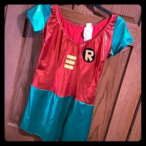 Robin DC Teen Titans Small Costume dress Rubies
